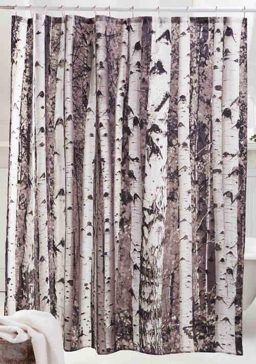 Cortinas Para Bano.Birch Cortina Para Bano Sh26